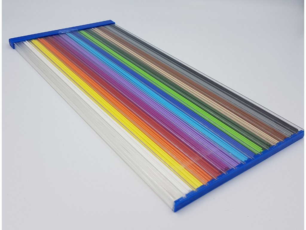 struny do 3D pera PLA 1,75mm 330mm 225ks