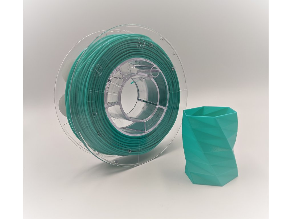 6740 pet g filament 1 75 mm smaragdove zeleny emerald green devil design 1 kg