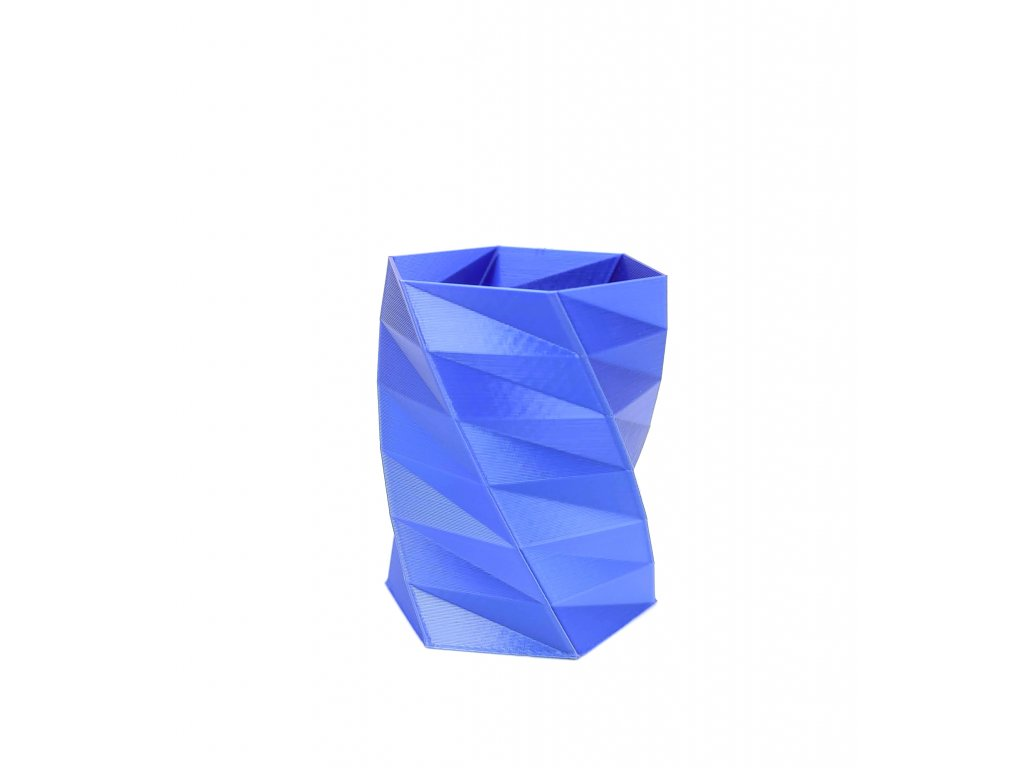 filament fibersilk metallic tmavě modrý