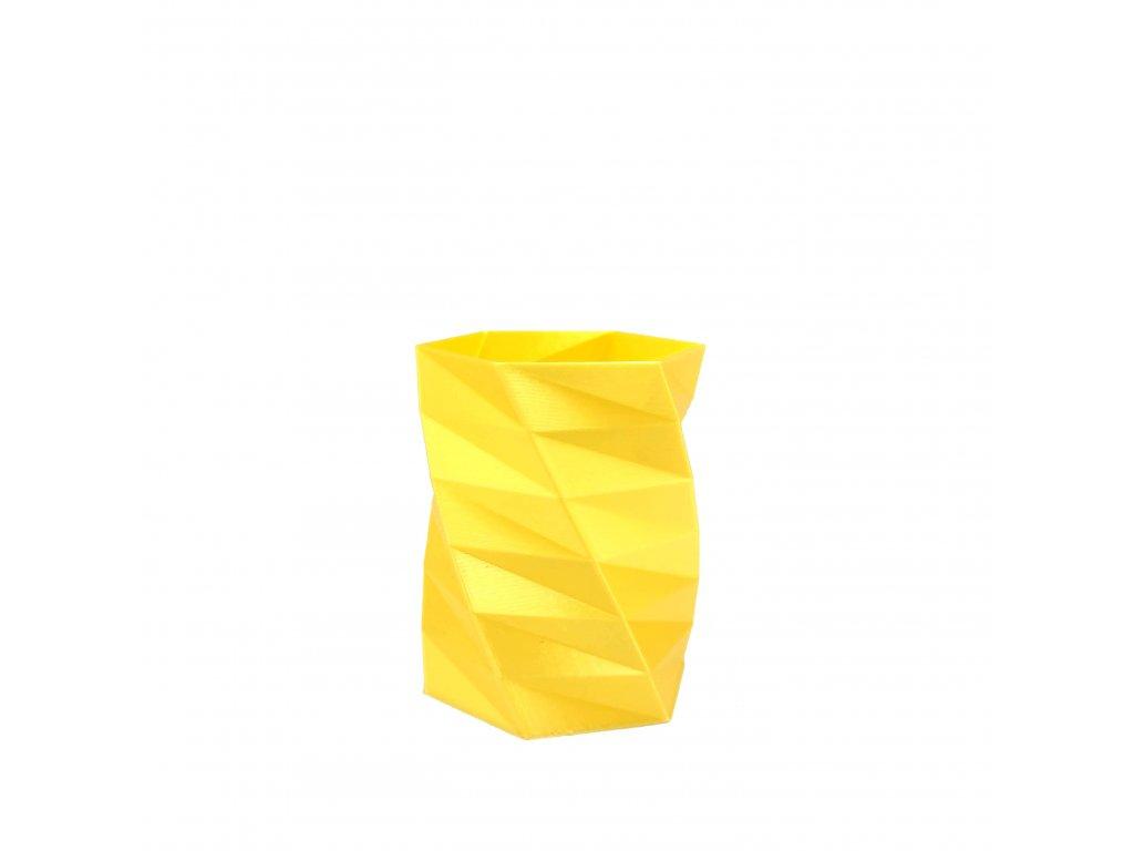 fibersilk metalický žlutý filament