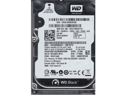 WD3200BEKX