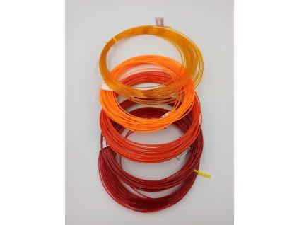 9552 petg vzornik 5 barev odstinu cerveno oranzove devil design