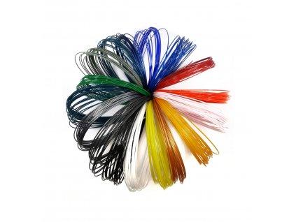 9663 1 petg vzornik z recyklatu 17 barev 1 75mm eko mb