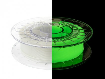 eng pm Filament PET G Glow in the Dark 1 75mm YELLOW GREEN 0 5g 1335 4