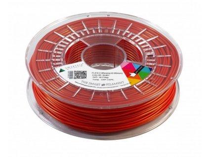 FLEX tisková struna ruby 2,85 mm