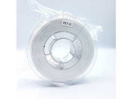 PET-G filament 1,75 mm bílý Devil Design 330g