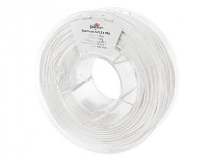 pol pm Filament S Flex 90A 1 75mm POLAR WHITE 0 25kg 1194 1