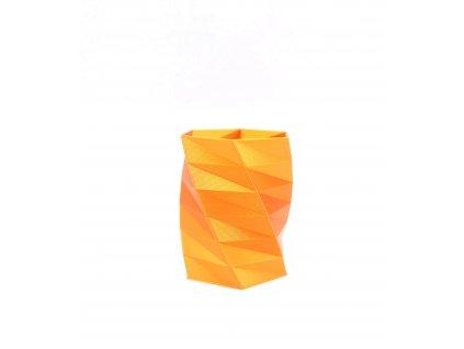 metalická oranžová filament FIberlogy