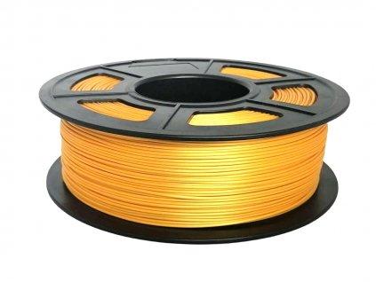 7292 pla silk filament hedvabny light gold 1 75mm 1kg fiber3d
