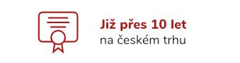 Již přes 10 let a českém trhu