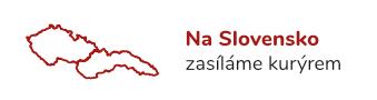 Na Slovensko zasíláme kurýrem