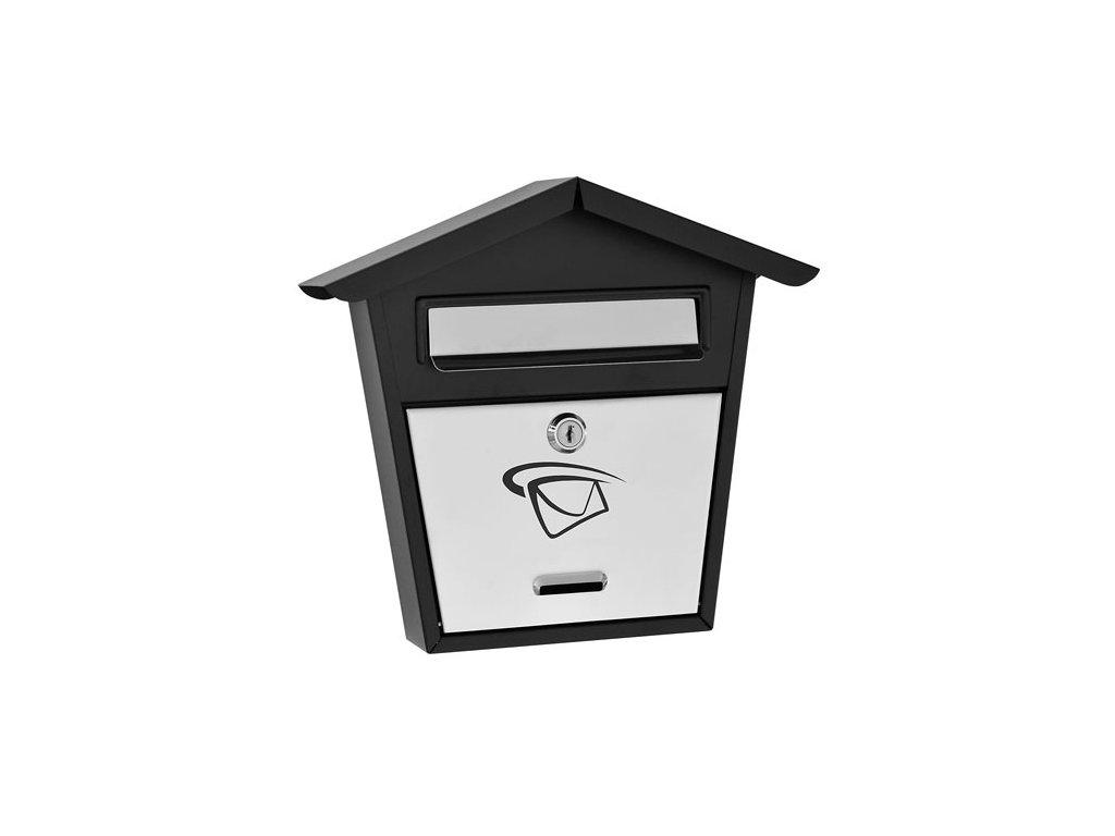 GNT Poštovní schránka LUX12 grafit/nerez