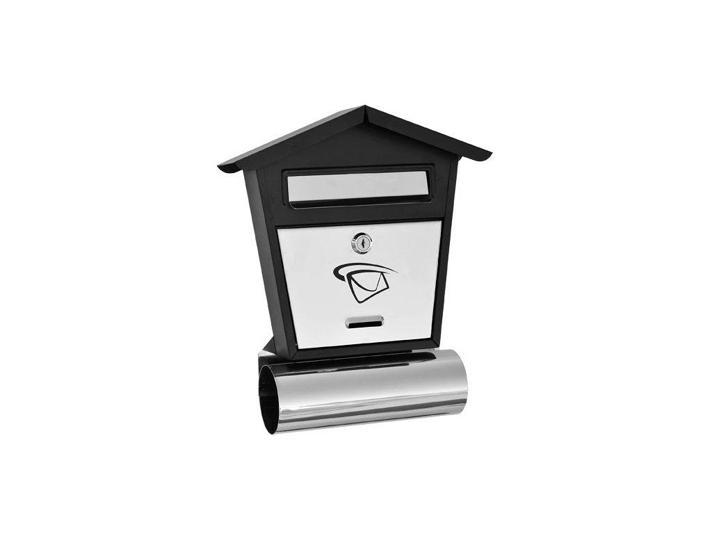 GNT Poštovní schránka LUX13 grafit/nerez