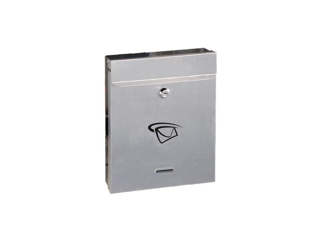GNT Poštovní schránka S17 grafit/nerez