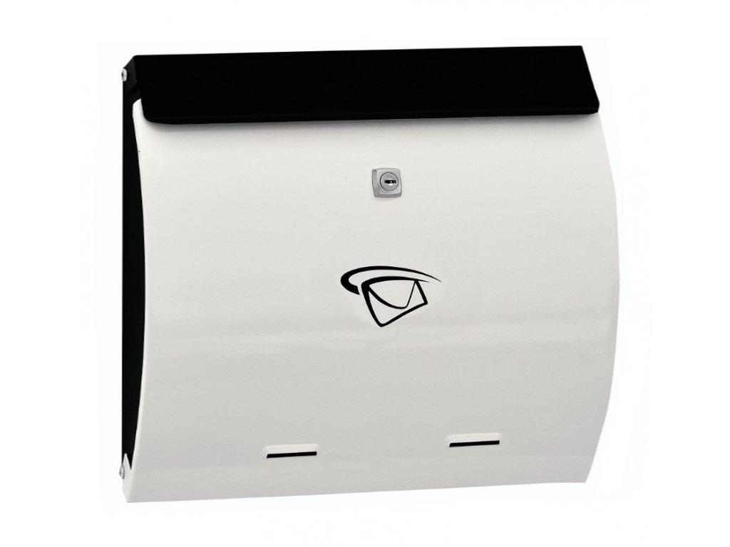 GNT Poštovní schránka BW14 černá/bílá