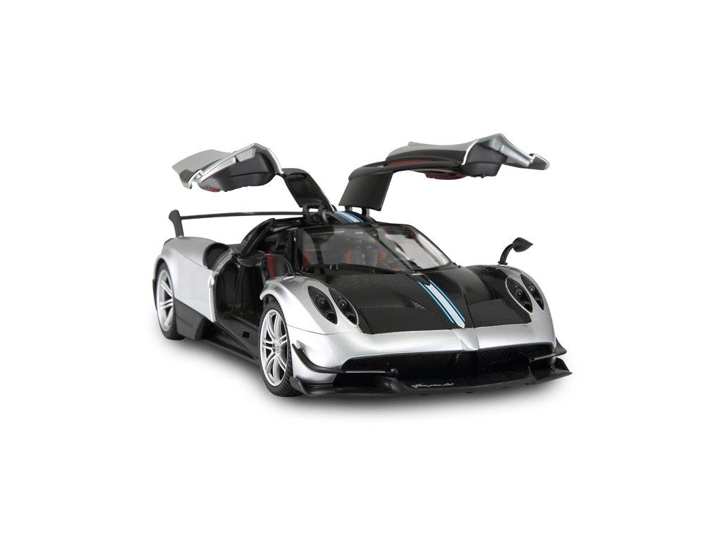 RASTAR RC auto Pagani Huayra 1:14 licenční stříbrné