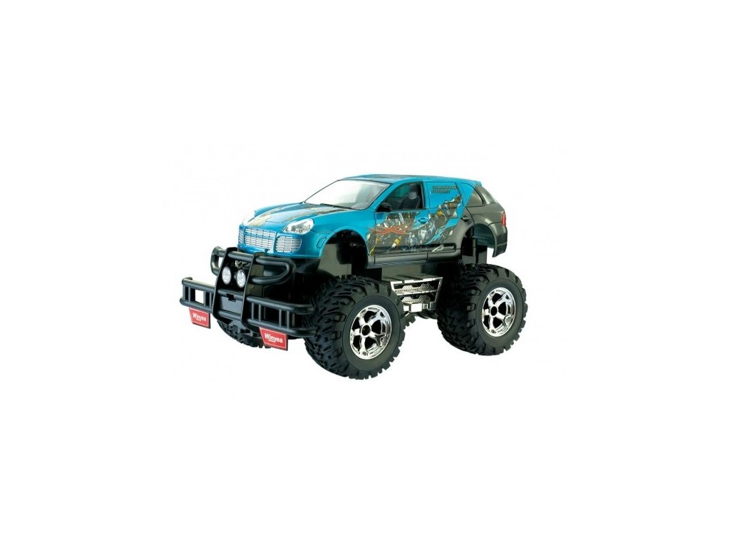 RC auto MONSTER TRUCK 1:18 - nabíjecí modré W3203N