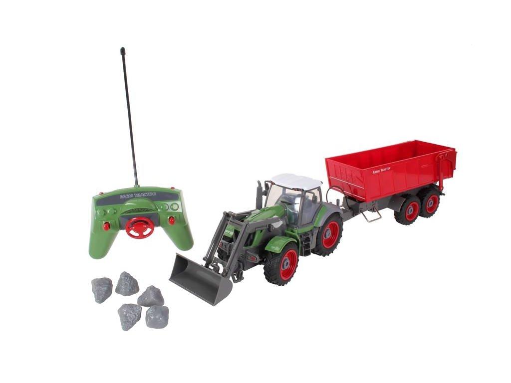 GNT RC Traktor FARM QY8301B Vlečka 1:28