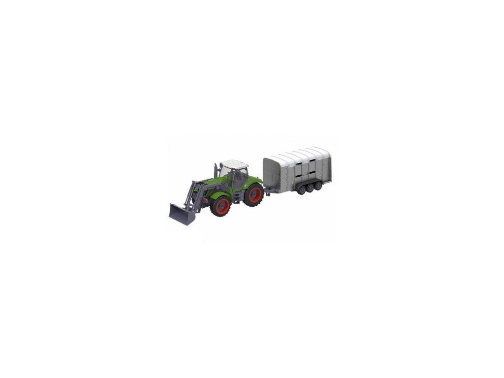 GNT FARM Traktor na dálkové ovládání 27MHz RTR 1:28
