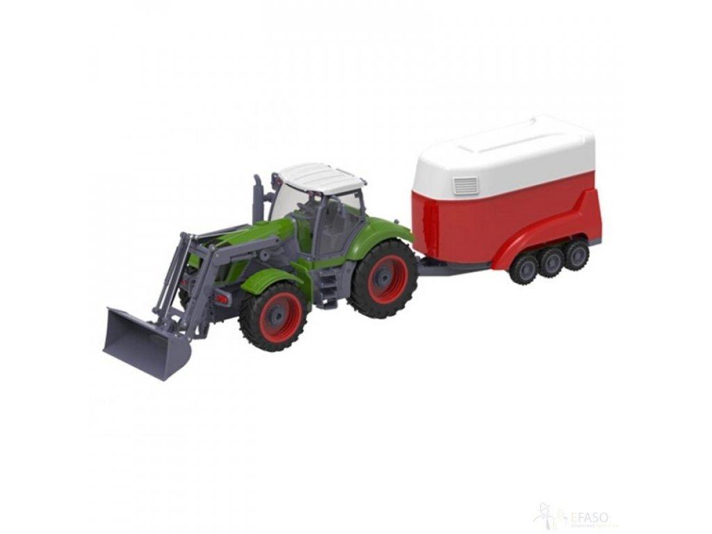 GNT  Traktor na dálkové ovládání 27MHz RTR 1:28