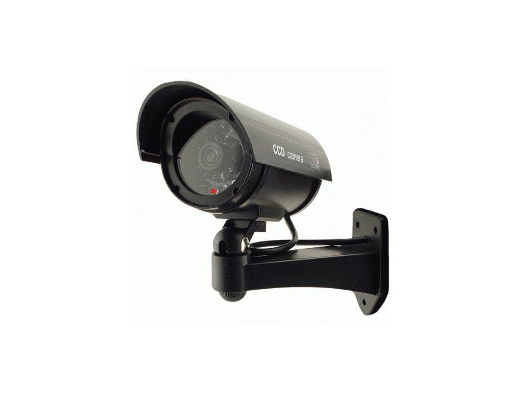 Atrapa kamery Ganto AG78C s IR LED černá