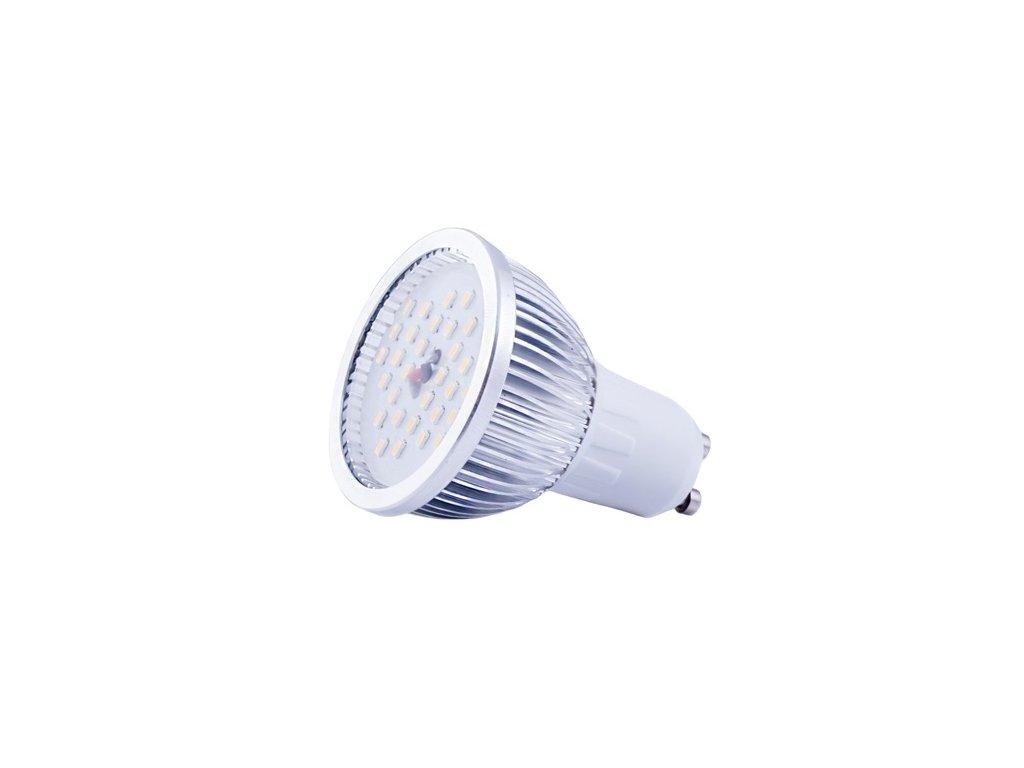 GNT Žárovka LED GU10 4,9W teplá bílá