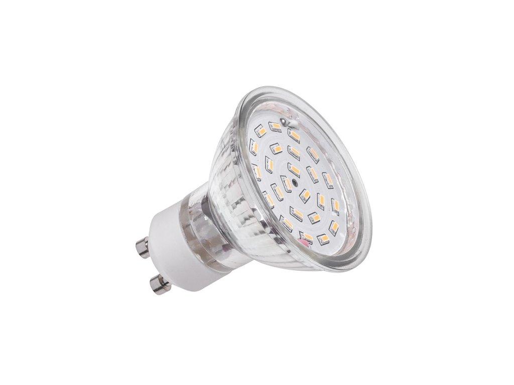 Žárovka LED 24xSMD 320lm GU10 4,5W teplá bílá