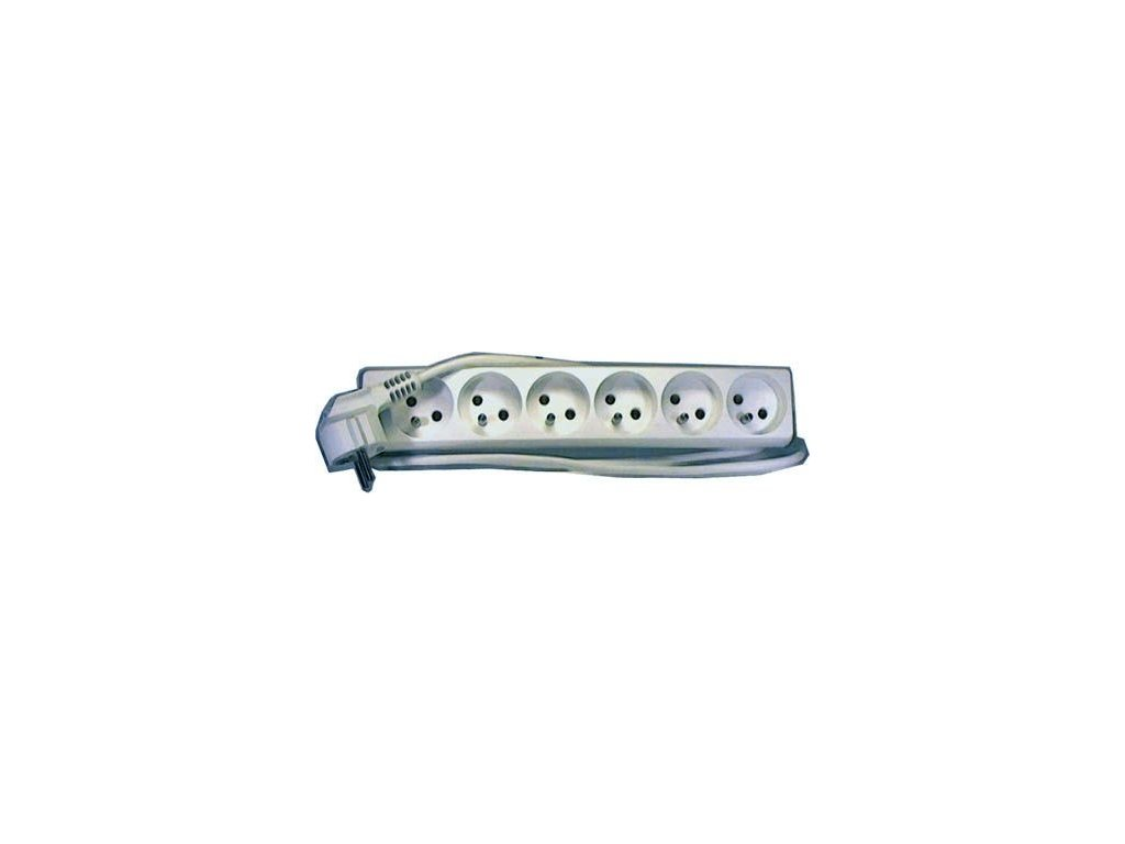 Prodlužovací přívod 1,5m-6x10A,3x1mm2