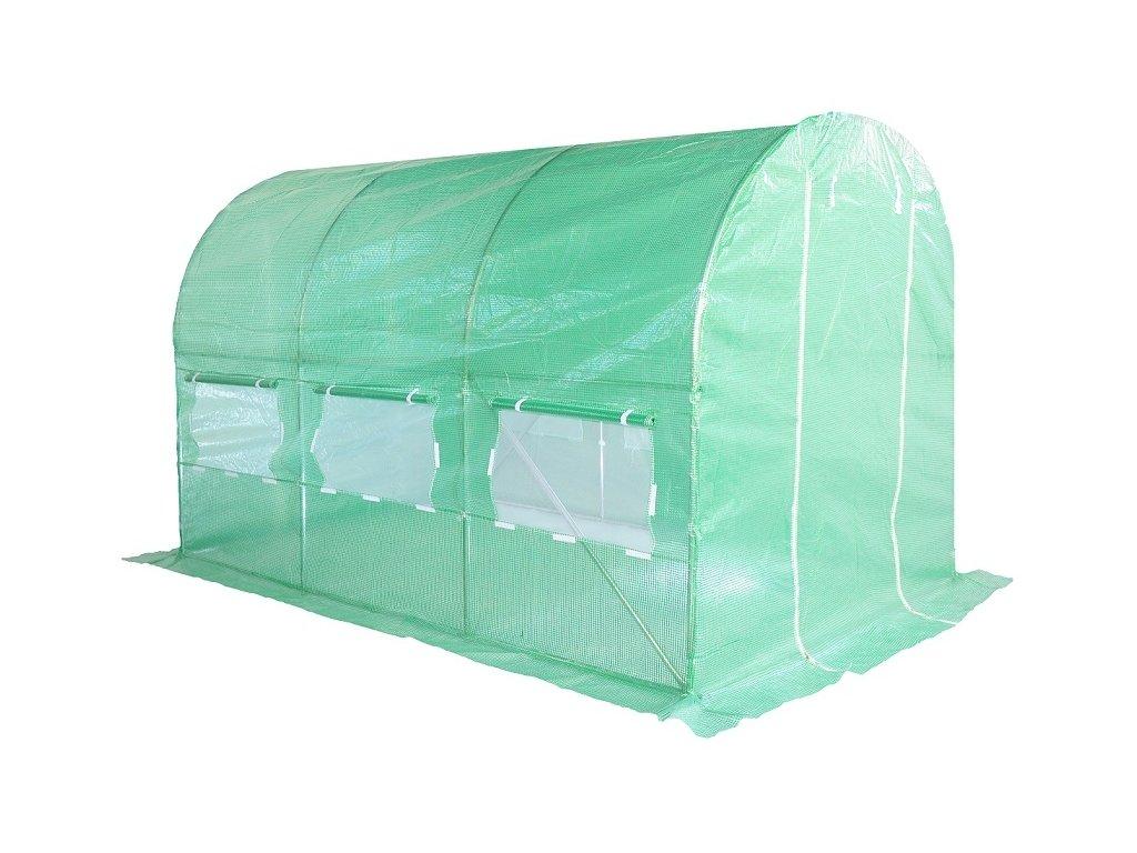 Home & Garden Zahradní fóliovník zelený 2x3,5m