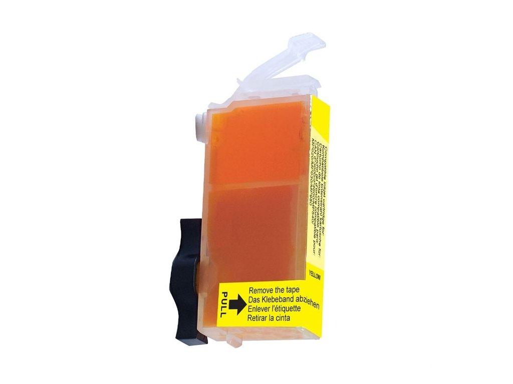 Cartridge Canon CLI-521Y žlutá (9ml) s čipem AGFA