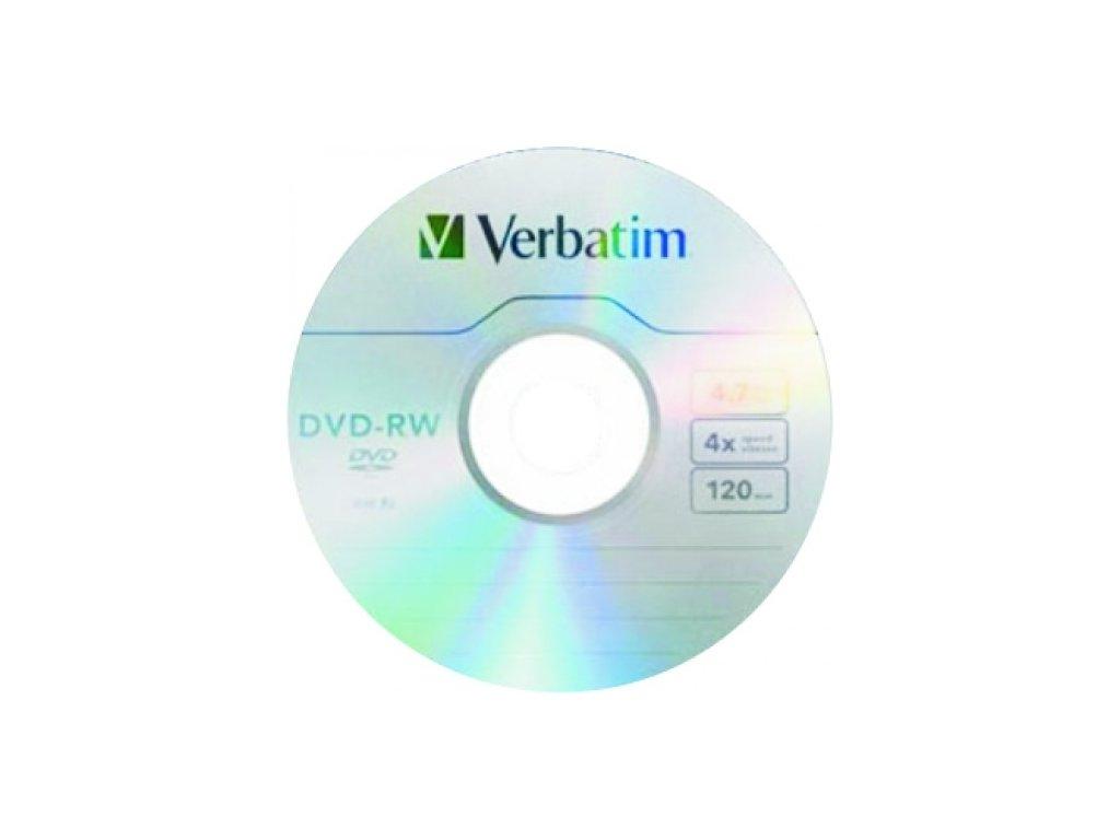 DVD-RW Verbatim 4,7GB 4x