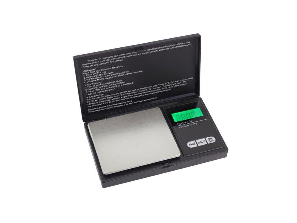 GNT AG52E Váha kapesní digitální 100g/0.01g