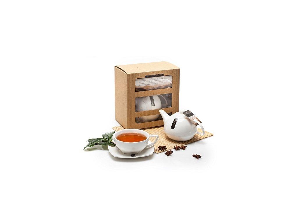 Richmond Tea čajová kolekce 12 sáčků konvička