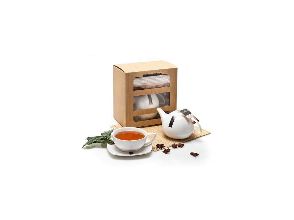 Richmond Tea čajová kolekce s konvičkou dárková sada