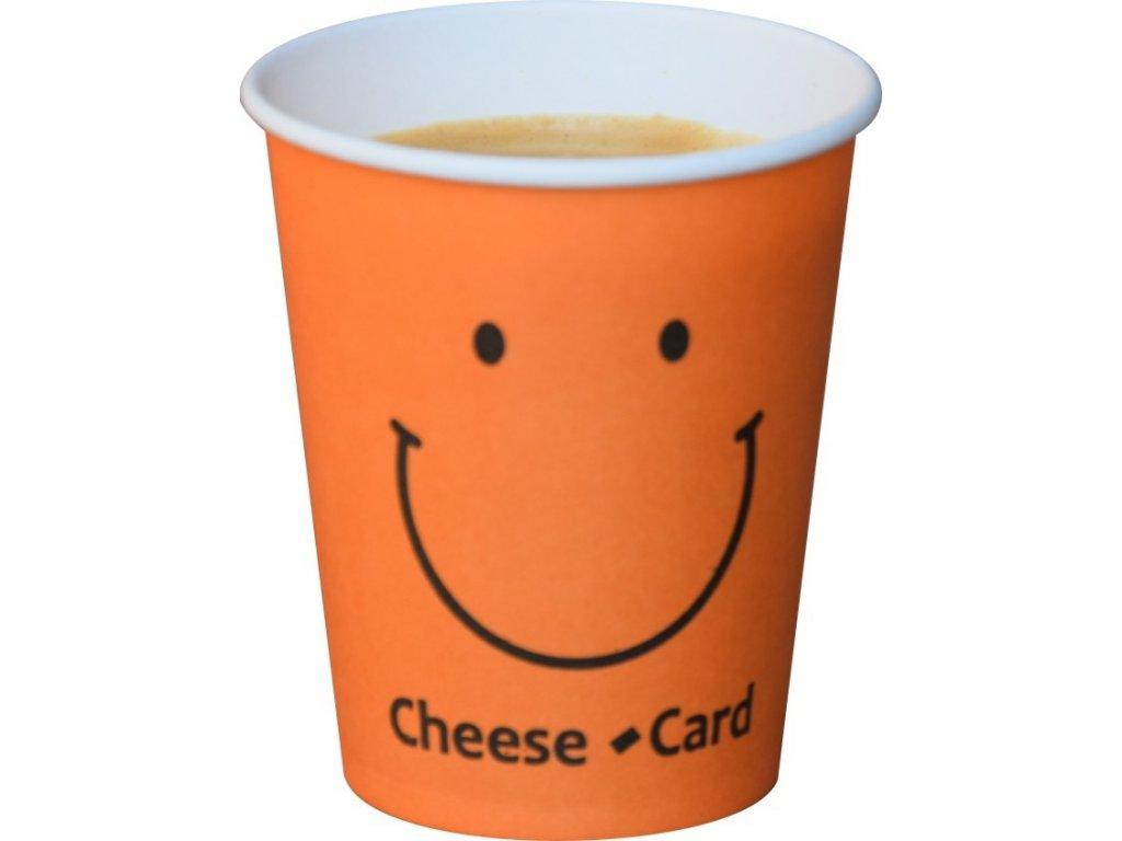 Probal papírový kelímek Smiley 185 ml 100ks, jen 0,85 kč/ks