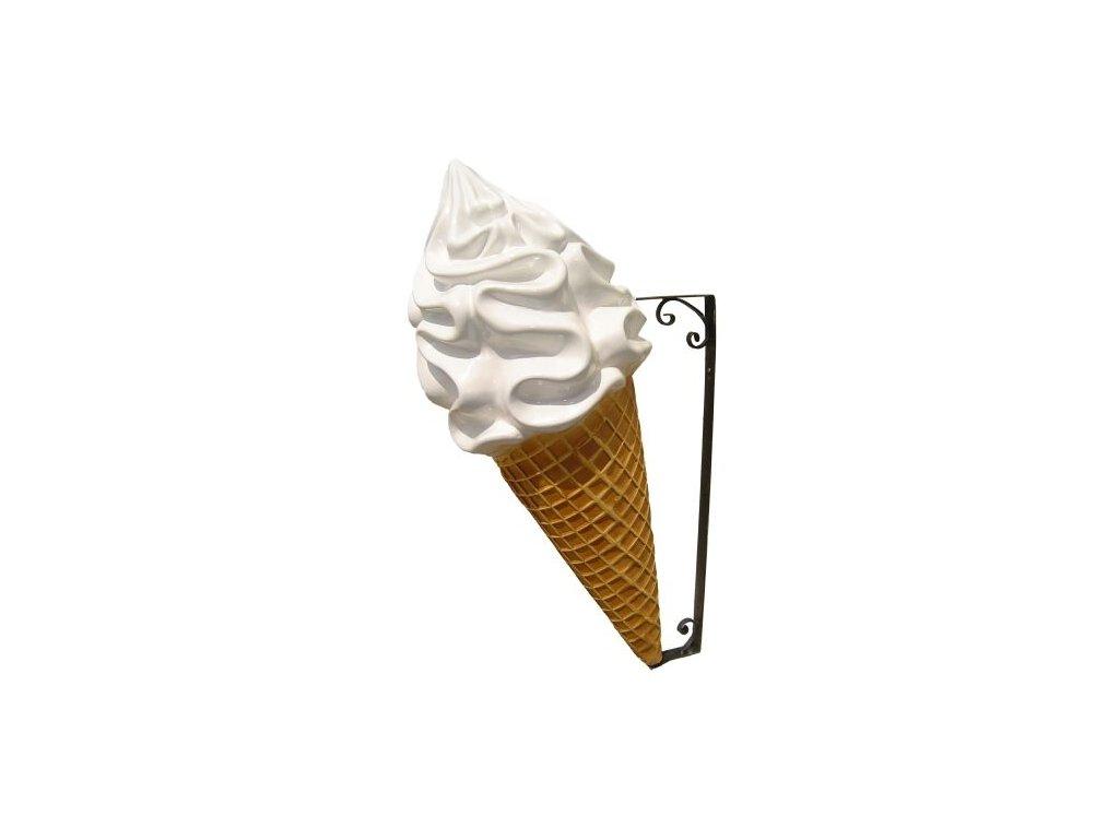 GNT Reklamní poutač - točená zmrzlina 130 cm (smetana)