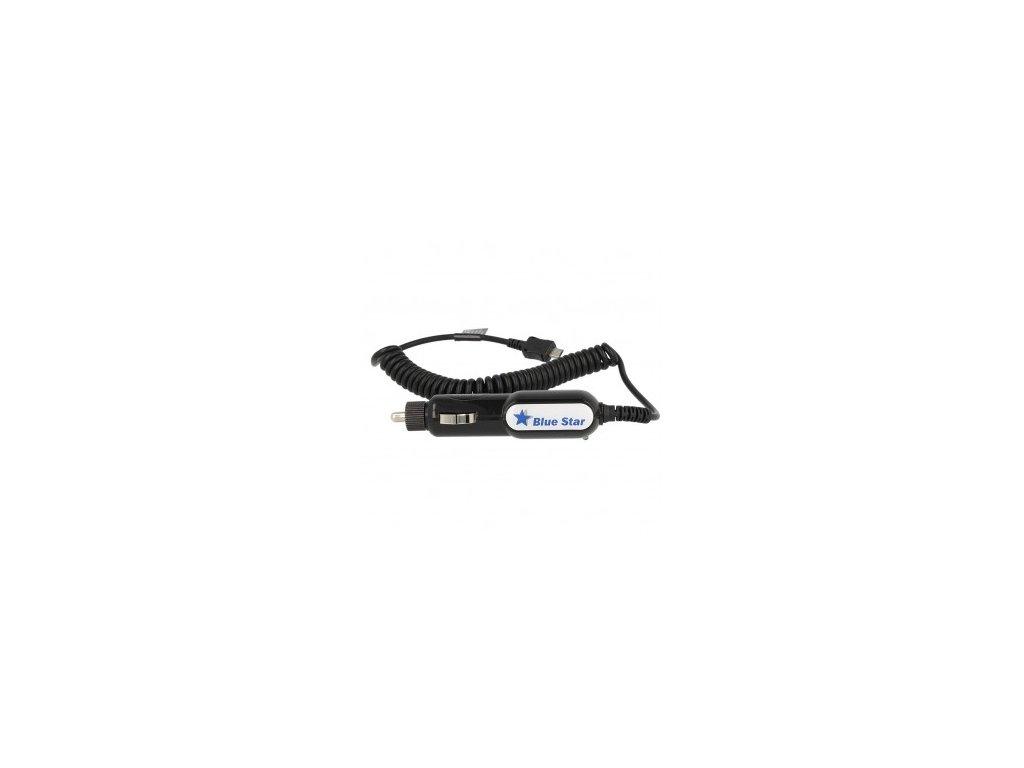 CL nabíječka do auta micro USB blue star