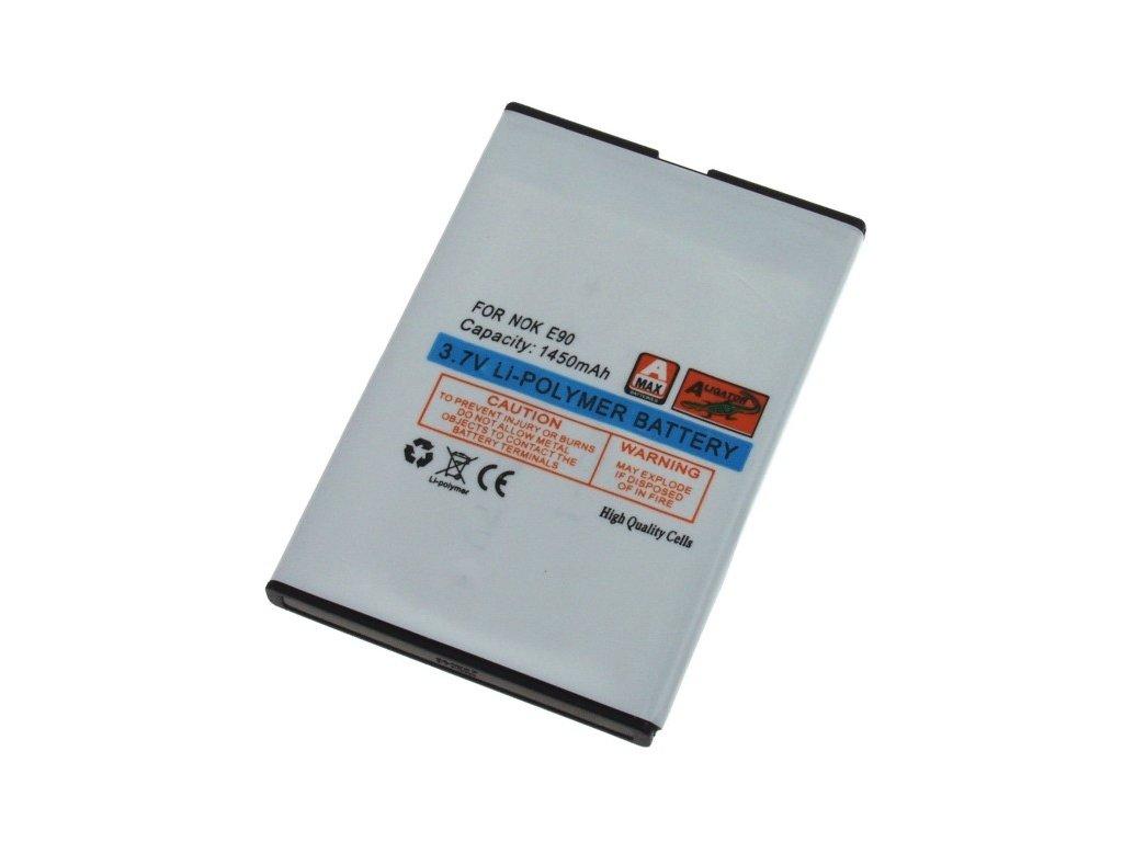 Baterie, Nokia E61i/E90/E71/E52 Comm/N97, Li-POL 1450 mAh, kompatibilní, nahrazuje BP-4L
