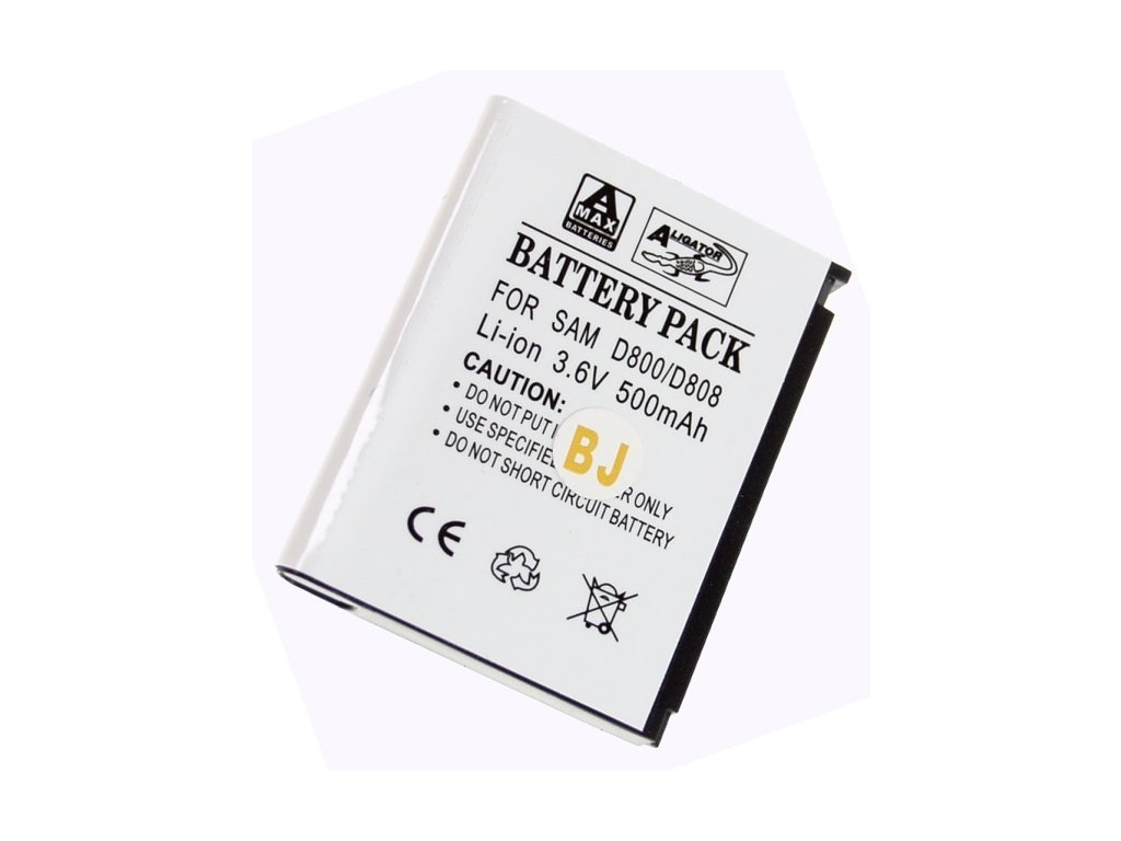 Baterie, Samsung SGH-D800, Li-ION 500 mAh, kompatibilní
