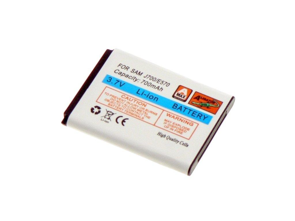 Baterie,Samsung J700 , E570 Li-ION 700 mAh, kompatibilní