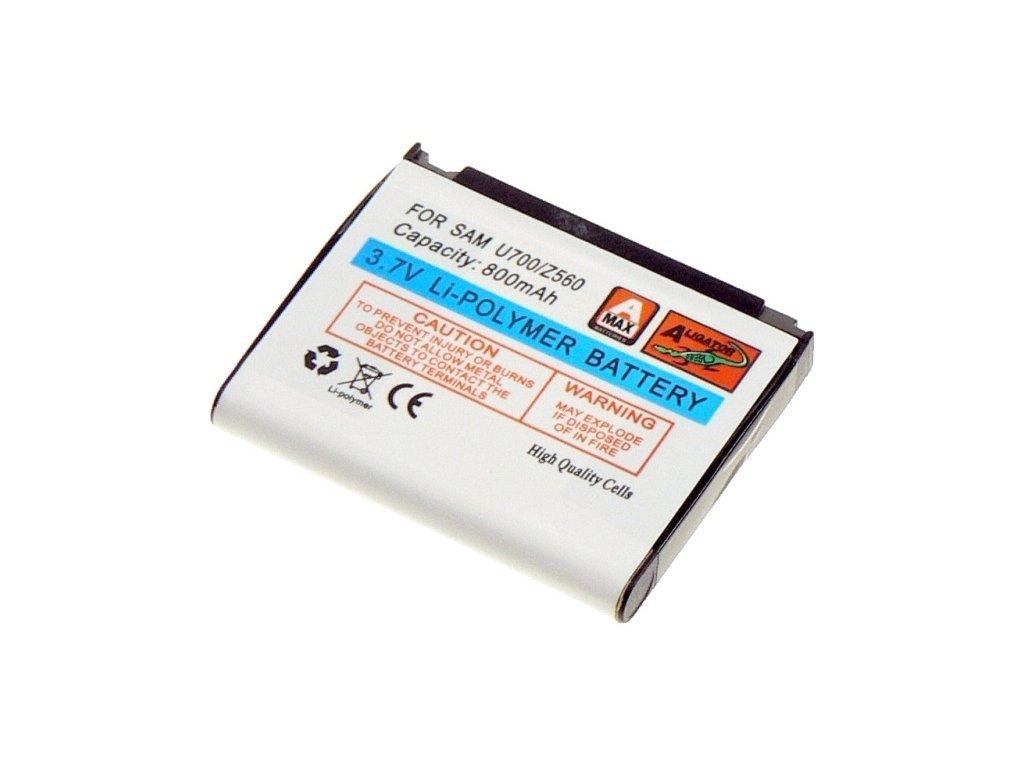 Baterie, Samsung SGH-U700/Z720/G800/S5230 Li-POL 800 mAh, kompatibilní