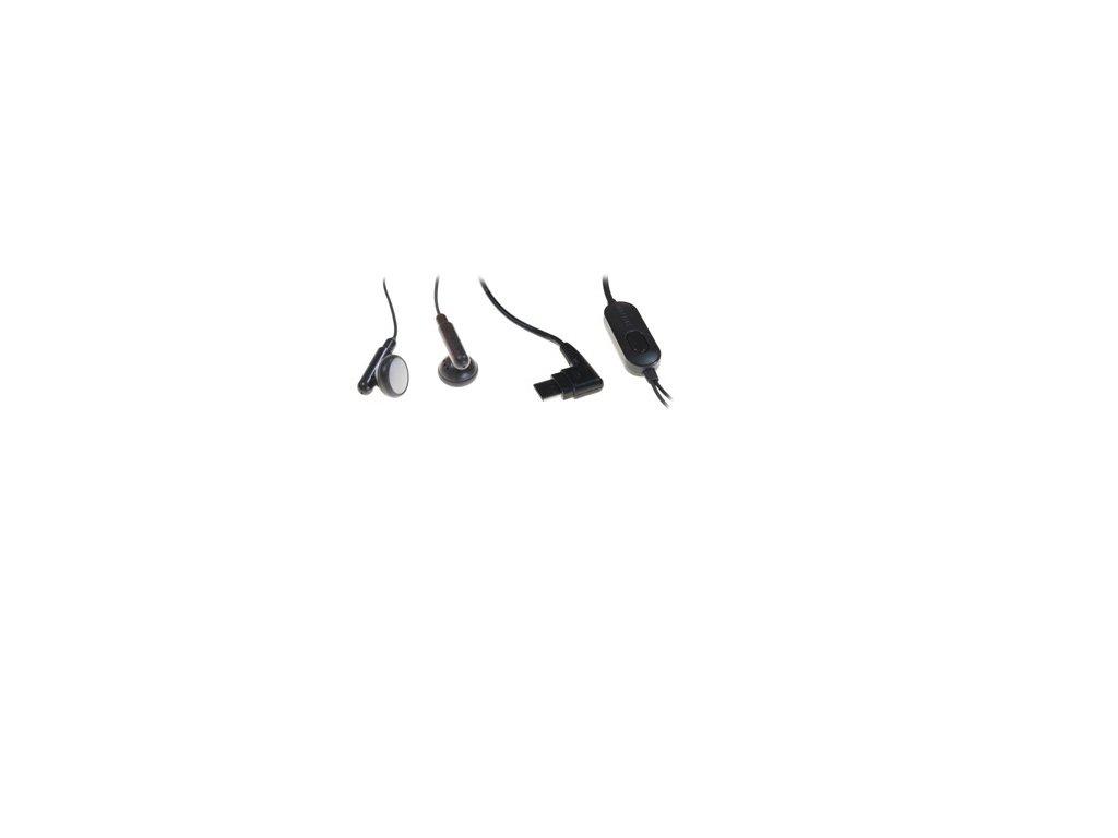Originální sluchátka - stereo handsfree Samsung