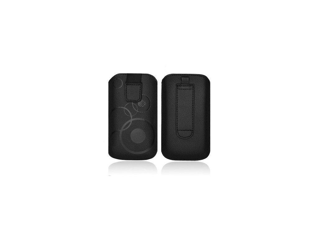 ForCell Deko Pouzdro na mobilní telefon Black pro HTC Desire C, Samsung S6500, S5360,...