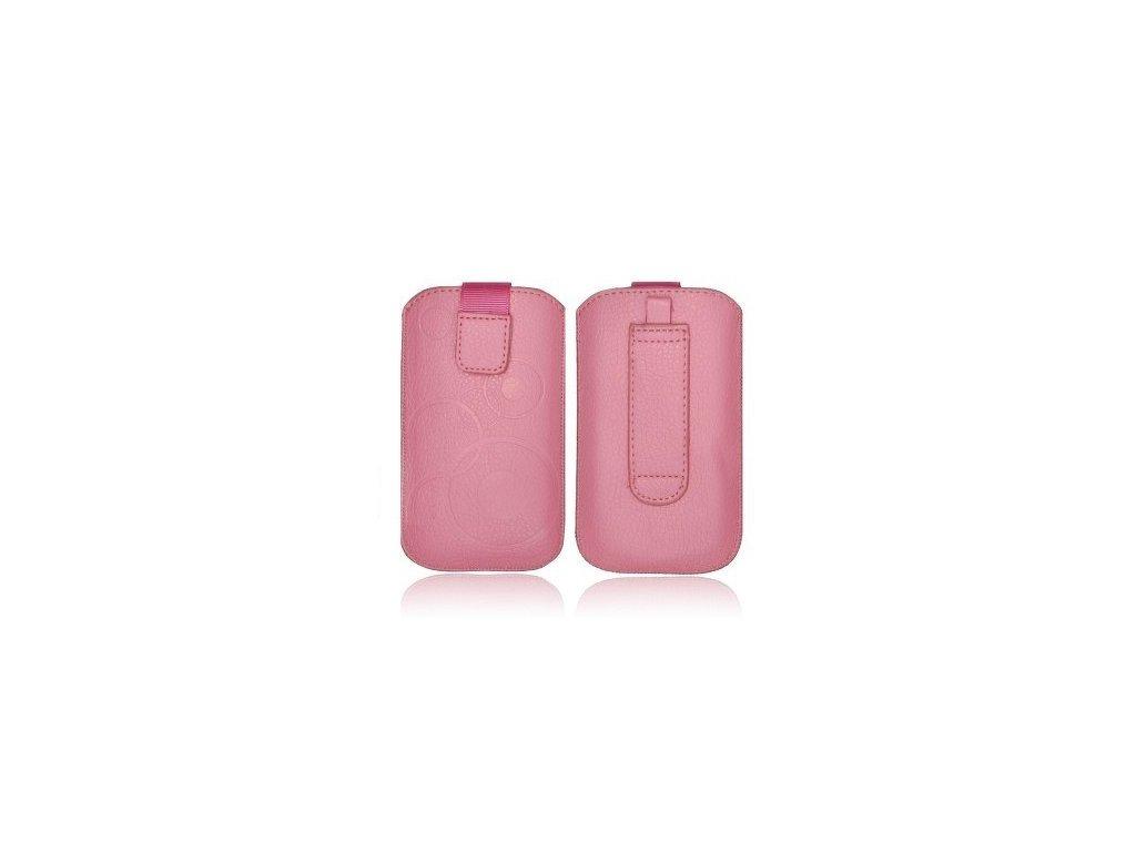 ForCell Deko Pouzdro na mobilní telefon Pink pro HTC Desire C, Samsung S6500, S5360,...