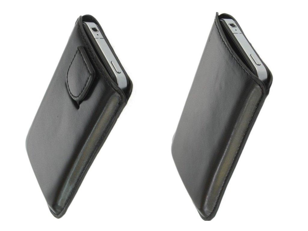 ForCell Magnetic Pouzdro na mobilní telefon Black pro  Nokii 610