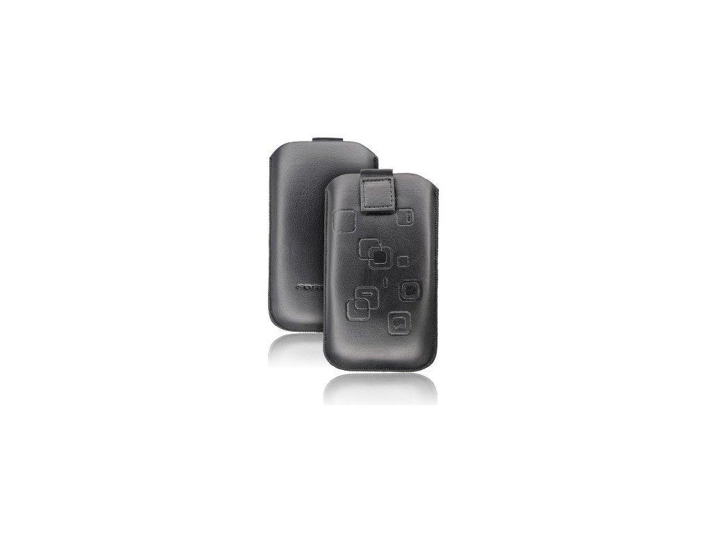 ForCell Slim Pouzdro pro HTC Desire C/S5360 Galaxy Y/S6500 GALAXY MINI 2/LG L3 černé