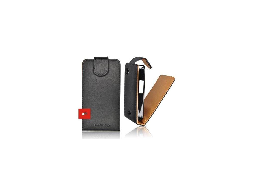 Forcell Prestige Black  Pouzdro na mobilní telefon  pro  iPHONE 4G/4S Vertikální