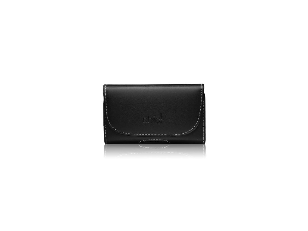Forcell CHic- Ekono Pouzdro na mobilní telefon Black pro MODEL 4 (iPhone 3G/4G/4S /Samsung S5830)