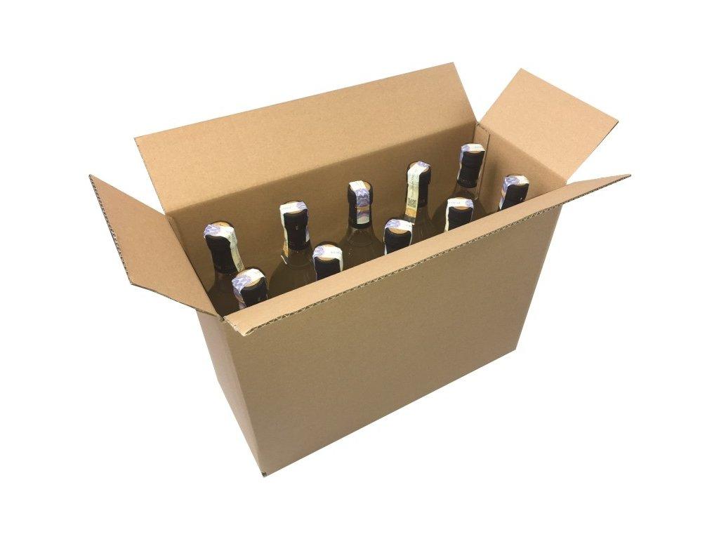 Krabice kartonová 3 vrstvá 430x170x315 mm