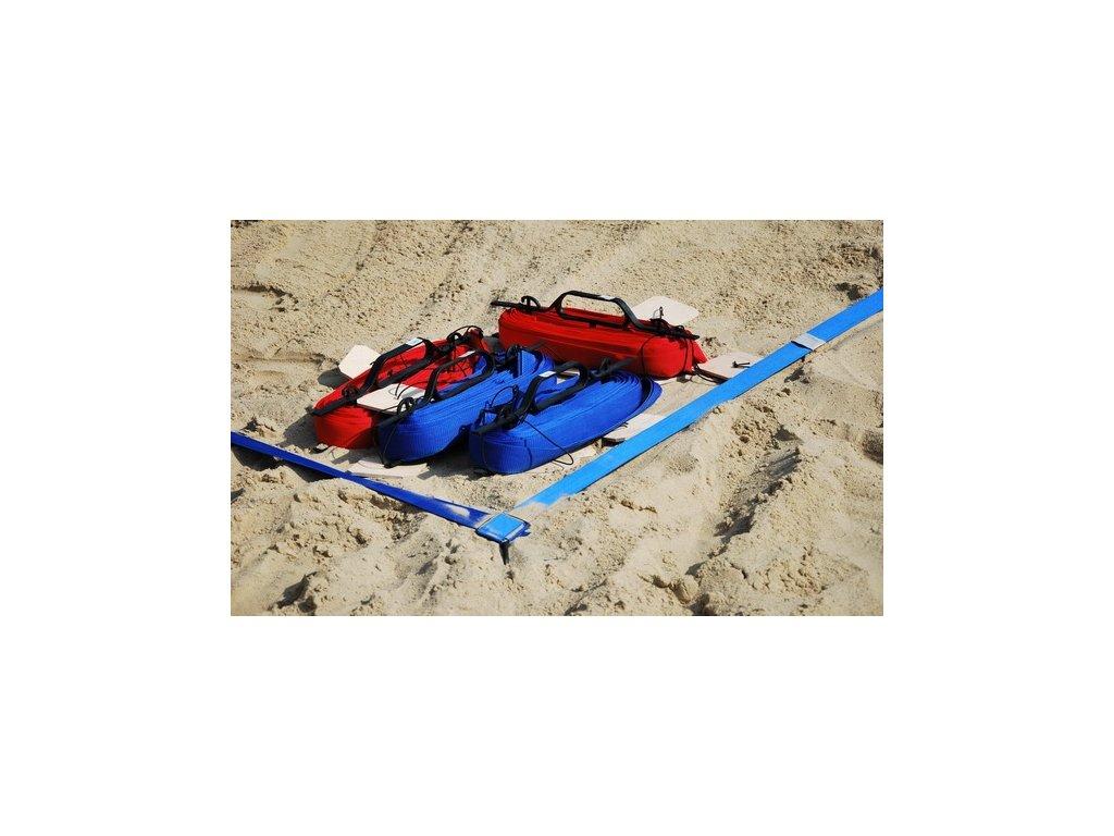 GN Lajny na volejbal do písku s regulací - 5cm. modré